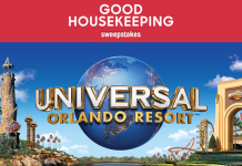 Good Housekeeping Universal Orlando Resort Vacation Sweepstakes