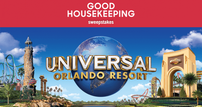 Good Housekeeping Universal Orlando Resort Vacation Sweepstakes
