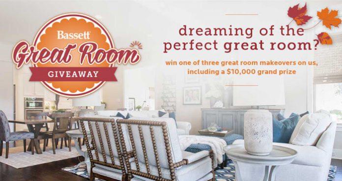 Bassett Furniture Great Room Giveaway 2016