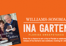foodnetwork.com/inasweeps - Food Network Ina Garten Florida Sweepstakes