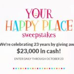 JTV.com/Happy - Your Happy Place Sweepstakes 2016