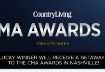 Country Living CMA Awards 2016 Sweepstakes (CountryLiving.com/CMAAwards2016)