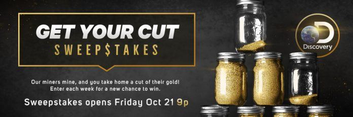 Discovery Get Your Cut Sweepstakes 2016 (Discovery.com/GetYourCut)