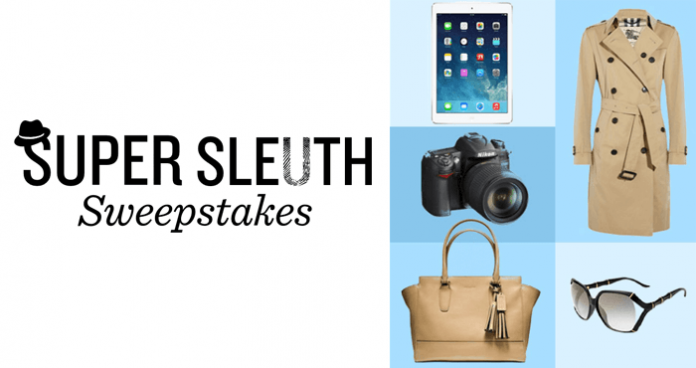 Hallmark Movies & Mysteries Super Sleuth Sweepstakes 2016