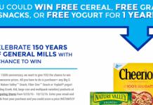 PrizeGeneralMills.com - General Mills Anniversary Instant Win Game