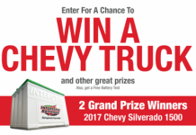 Truckload of Prizes Sweepstakes (TruckloadofPrizes.com)