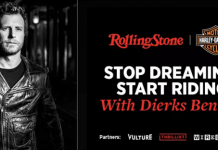 Rolling Stone Stop Dreaming, Start Riding Sweepstakes (RollingStone.com/StartRiding)