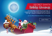 Wheel Of Fortune Secret Santa Sweepstakes 2017