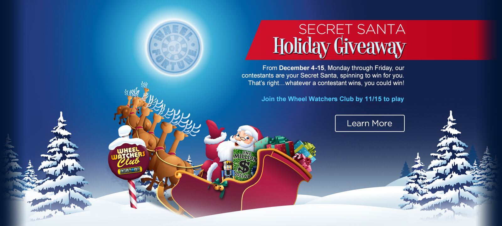 secret santa sweepstakes on wheel of fortune wheel of fortune secret santa sweepstakes 2017 are you 1566