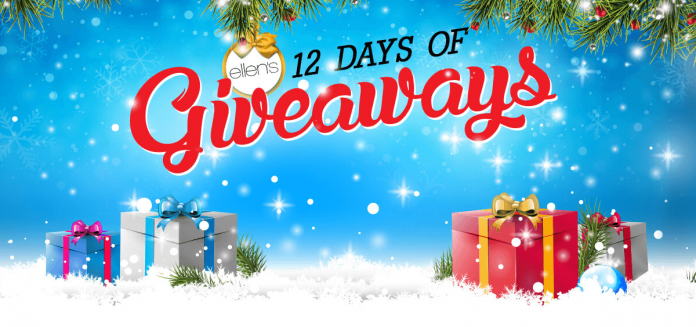 Ellen's 12 Days Watch & Win (Ellentv.com/Win)