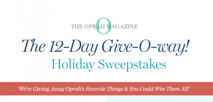oprah-com-12-days-sweepstakes