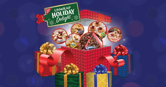 Nabisco Unwrap Holiday Delight Sweepstakes (UnwrapHolidayDelight.com)