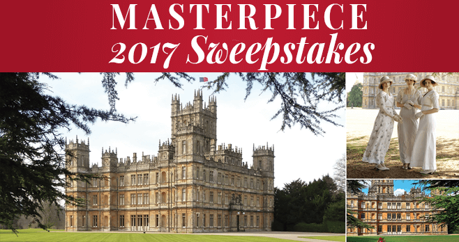 PSB MASTERPIECE Sweepstakes 2017 (PBS.org/Sweepstakes)