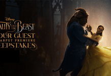 Beauty And The Beast Sweepstakes - Disney Be Our Guest Red Carpet Premiere