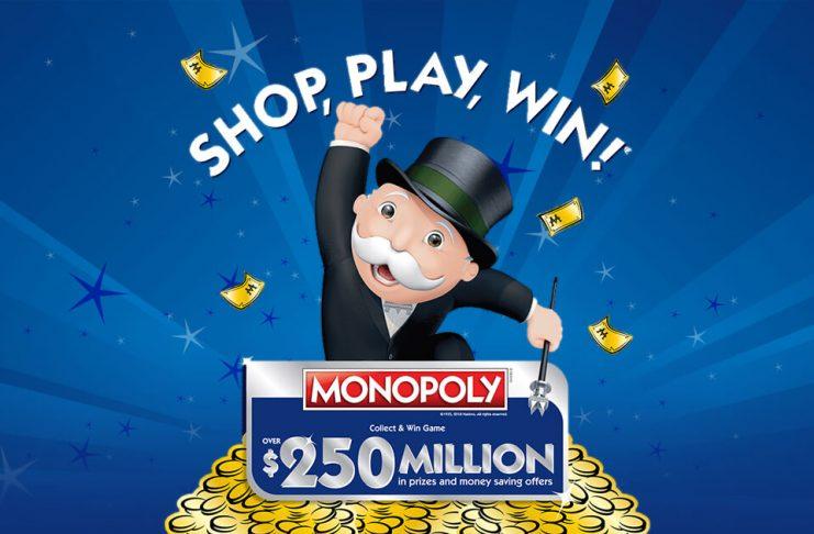 Monopoly Albertsons 2018 (ShopPlayWin.com)