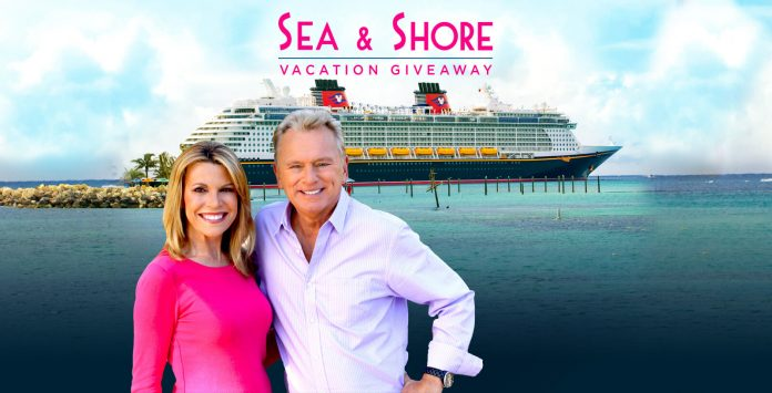 Wheel Of Fortune Disney Sea & Shore Sweepstakes 2018