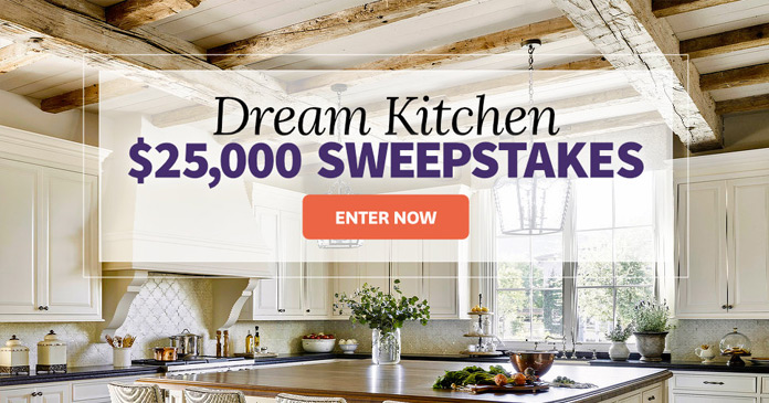 BHG.com/25kSweeps - BHG $25,000 Dream Kitchen Sweepstakes