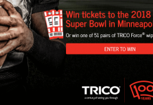 Trico Big Game Sweepstakes (TricoWipers.com/BigGame)
