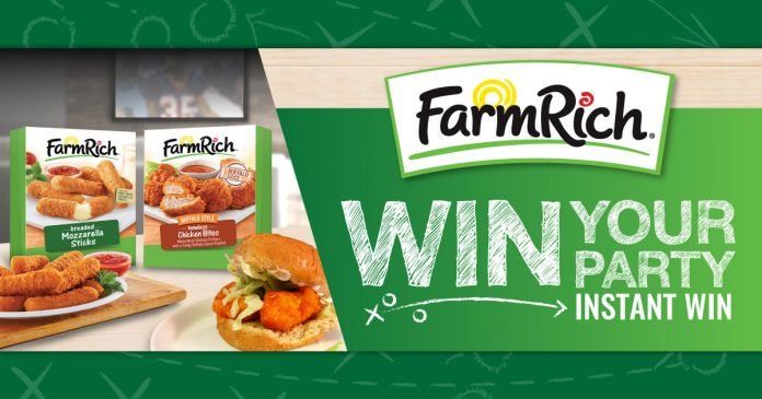 Farm Rich Win Your Party Sweepstakes (WinYourParty.com)