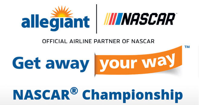 Allegiant Air Get Away, Your Way NASCAR Championship Sweepstakes (AllegiantSweepstakes.Nascar.com)