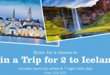 Price Chopper Trip to Iceland Sweepstakes 2017