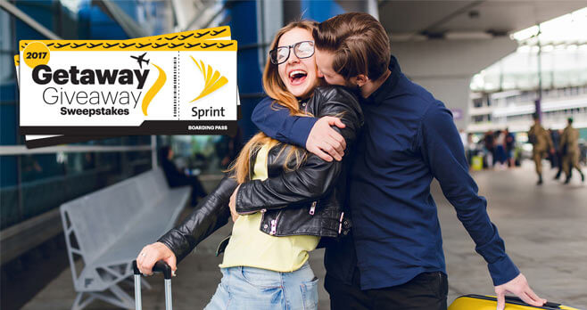 Sprint Getaway Sweepstakes 2017 (Sprint.com/Getaway)