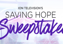 ION Television Saving Hope Sweepstakes