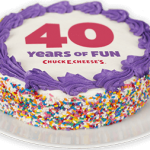 Chuck E. Cheese's Birthday Cake