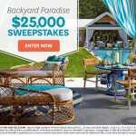 Backyard Paradise $25,000 Sweepstakes