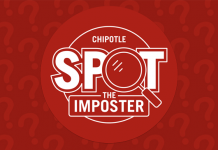 Chipotle Spot The Imposter Sweepstakes