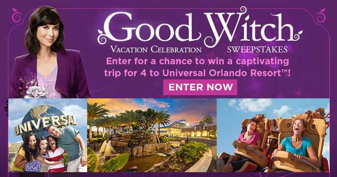 Hallmark Channel Good Witch Vacation Celebration Sweepstakes