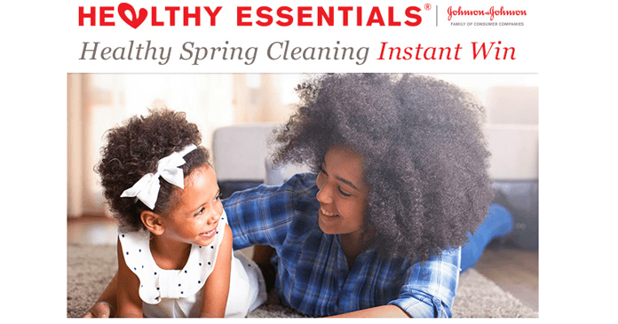 Healthy Essentials Spring Cleaning Sweepstakes And Instant Win Game