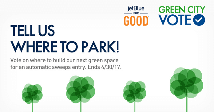JetBlue Green City Map