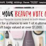 Vote for Beauty Sweepstakes