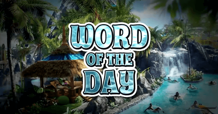 Extra's Universal Orlando Sweepstakes Word Of The Day