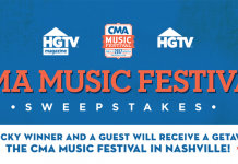 HGTV CMA Music Festival 2017 Sweepstakes