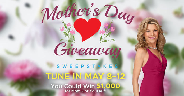 Wheel of Fortune Mother's Day Giveaway
