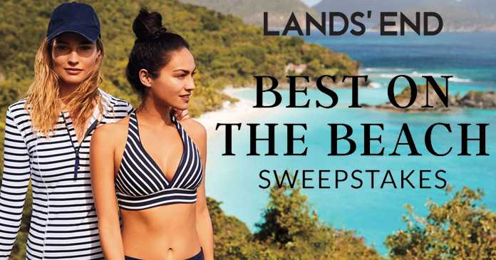 Lands' End Best On The Beach Sweepstakes