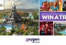 Oxygen Universal Orlando Volcano Bay Sweepstakes (Oxygen.com/VolcanoBay)