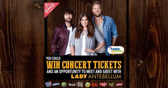 Albertsons Lady Antebellum Concert Summer Music Sweepstakes