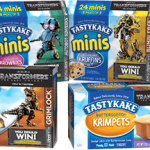 limited edition Tastykake Transformers Products