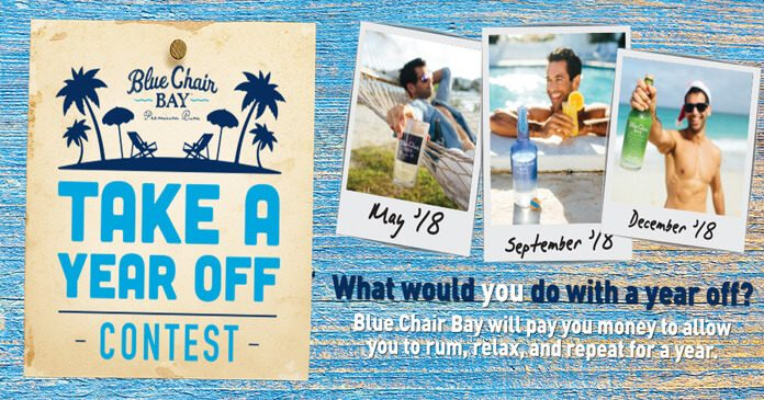 Blue Chair Bay Rum Year Off Contest