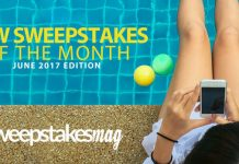 New Online Sweepstakes To Enter And Win In June 2017