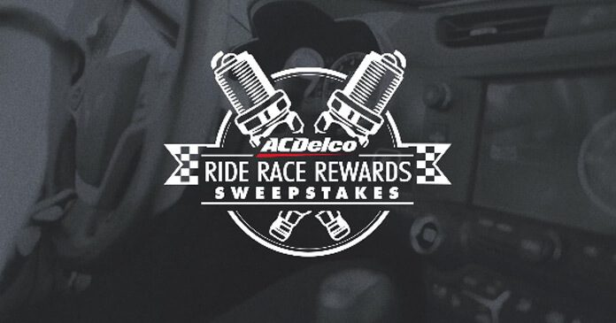ACDelco Ride Race Rewards Sweepstakes