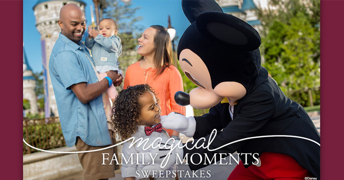 Huggies Magical Family Moments Sweepstakes