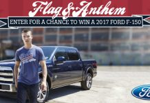 Flag & Anthem Ford Truck Sweepstakes