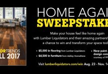 Lumber Liquidators Home Again Sweepstakes