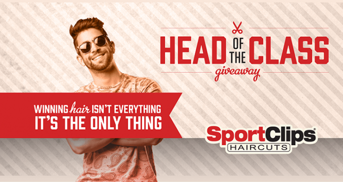 Sport Clips Head Of The Class Giveaway