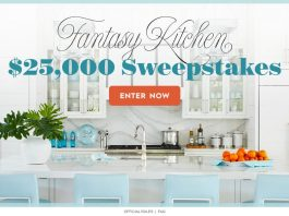 BHG Dream Kitchen $25,000 Sweepstakes (BHG.com/Kitchen25K)