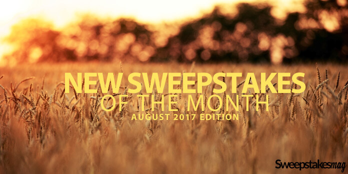 New Online Sweepstakes (August 2017)